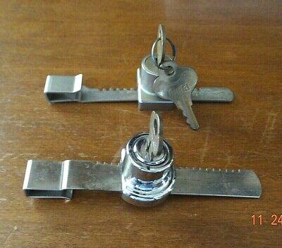 Showcase Locks Knape Vogt Adjustable Lock For Glass Sliding Door Display Case