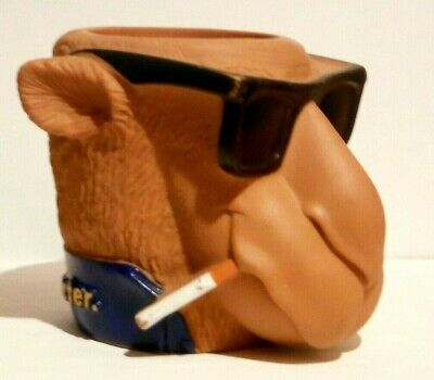 VINTAGE JOE CAMEL SMOOTH CHARACTER CAMEL SHAPED CAN KOOZIE - 1992