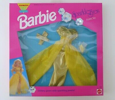 Barbie Doll Outfit Fashion Sparkle Eyes Boxed Number 4680 from 1991