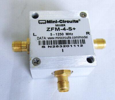 Zfm-4-s Mini-circuits Level 7 Double Balanced Mixer Rflo Freq 5 - 1250 Mhz