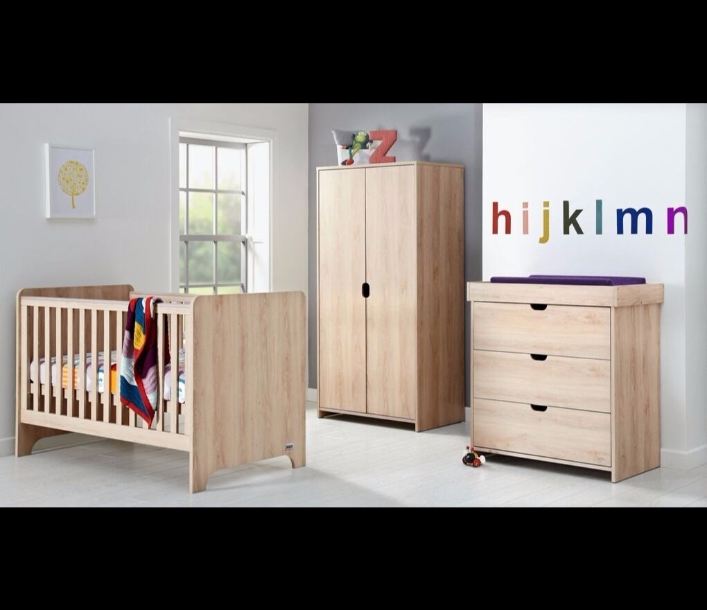 Mamas And Papas Bedroom Furniture Brand New Mamas Papas Otto Furniture Set Cot Bed Chest Dresser