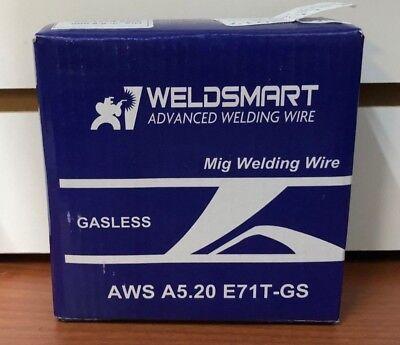Weldsmart Mig Welding Wire Aws A5.20 E71t-gs Gasless 0.9mm0.035 Inch Dia 2.2lb