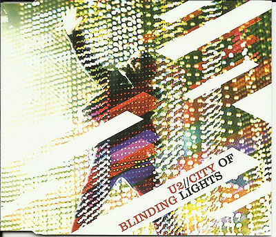 U2 City of Blinding Lights w/ The Fly & even Better LIVE UK CD Single SEALED