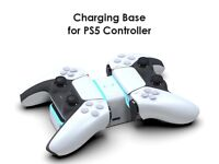 PS5 Controller Charger Docking Station - LED Dualsense Charging Dock USB A