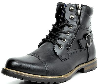 men s military motorcycle combat boots