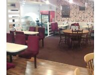 Cafe Business for sale in STOCKSBRIDGE with 5 STAR rating - selling for £7000