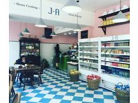 Waiting Staff and Sales Assistants - J+A Cafe, Old Street and Clerkenwell