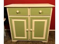 Hand painted pine sideboard