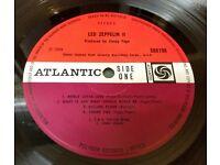 Led Zeppelin II uk original lp KILLING FLOOR CREDIT (588198) VG/EX