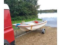 11 ft Dell Quay Dory Fishing Boat