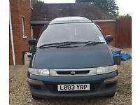 Toyota lucida 93/94-8 seater- drives nice, had new break pads in march 17.