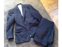Men's Chester Barrie - Saville Row - 2 piece navy suit - Made in Italy