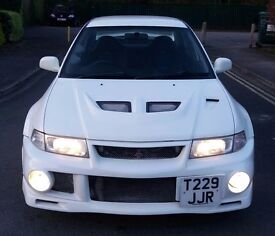 MITSUBISHI EVO 6 RALLIART VERY RARE UK 300BHP AWD 4WD 4X4 MAY PX SWAPS FOR DIESEL FAMILY CAR TRY ME