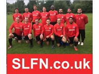 Looking for extra players to play 11 aside football, recruiting in London