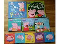 Peppa Pig Book Bundle x10 like New
