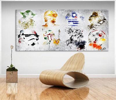 Star Wars Bild auf Leinwand Abstrakte Kunst Bilder - Star Wars Auf