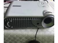 Optoma DLP Projector & electric screen with remote control. Fully working