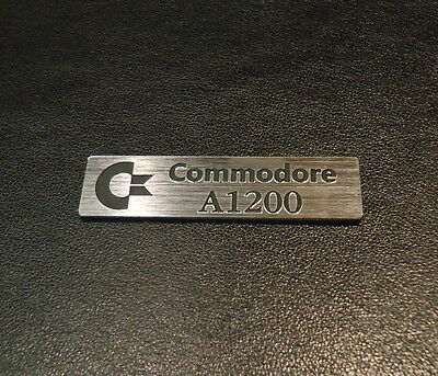 Commodore Amiga 1200 Label / Logo / Sticker / Badge 49x13 mm [263]