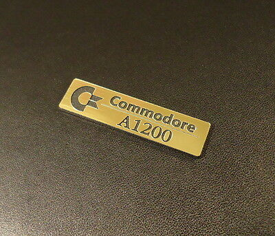 Commodore Amiga 1200 Label / Logo / Sticker / Badge 49x13 mm [263b]