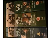 A Family at War - First, Second & Third Series Box Sets