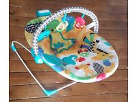 Bright Starts Safari Smiles Baby Bouncer