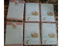 Winnie the pooh invitations and thank you notes