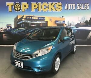 2015 Nissan Versa Note SV, AUTOMATIC, POWER GROUP, BACK UP CAM!