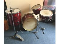 Vintage / Antique (1960's) John Grey Broadway Drum Kit + Hardware