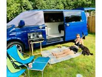 Camper van VW transporter conversion