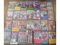 30 x Only fools and horses VHS Video tapes including box set.