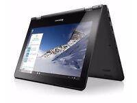 Lenovo YOGA 300 11.6 inch Convertible Touchscreen Notebook - Like New, used twice
