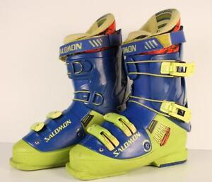 Bottes de ski ''vintage'' de marque Salomon grandeur 9.5 (A006830)