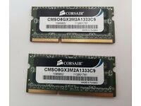 Corsair 8GB (2x4GB) DDR3 Laptop Memory