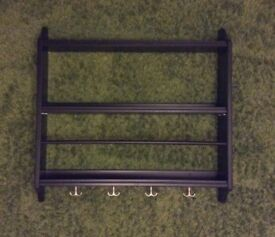 IKEA black plate rack