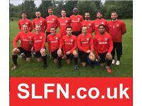 Find a football team in London, play 11 aside football in London. A92G