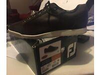 Foot Joy Contour Casual Golf shoes NEW size 8.5 Brown colour