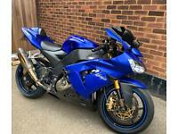 Kawasaki ninja Zx10r 1000cc new mot low miles rare blue