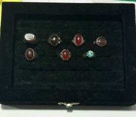 Silver Aqeeq Ring collection