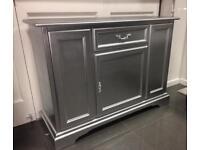 Silver Italian sideboard