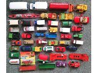 46 Diecast Vehicles