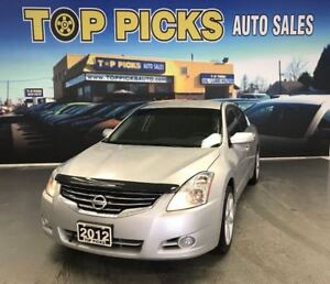 2012 Nissan Altima Automatic, 18 Wheels, Navigation, Certified!