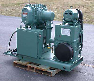 Stokes 1721 Vacuum System 615 Blower W 212h-11 Pump