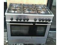 RANGE GAS COOKER : KENWOOD 90CM . ELECTRIC OVEN * delivery available *