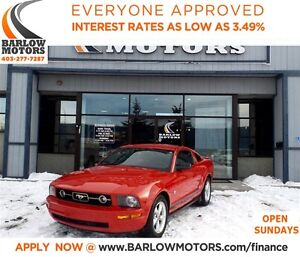 2009 Ford Mustang V6*EVERYONE APPROVED*APPLY NOW DRIVE NOW!