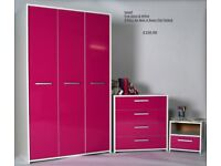 Sywell 3 Door Wardrobe Set New In Boxes