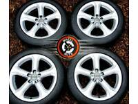 """17"""" Genuine Techniks alloys Audi A5 great cond almost new matching tyres."""