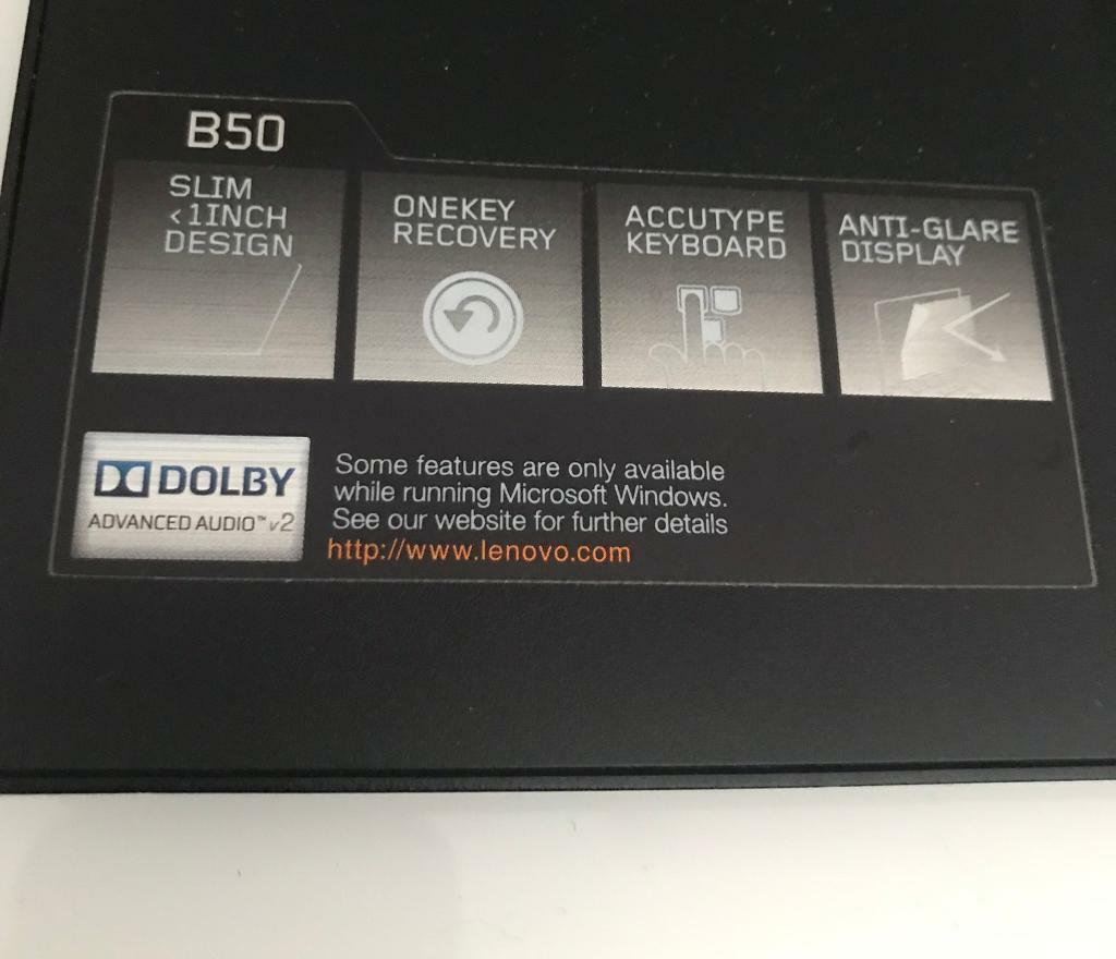 LENOVO B50 | WINDOWS 10 LAPTOP | INTEL CORE i3 4030U | 4GB | 500GB | in  Redbridge, London | Gumtree