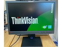 New Sealed Boxed Lenovo HD ThinkVision Widescreen Monitor