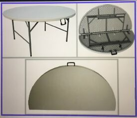 Round Folding Table – 5ft (155cm) diameter