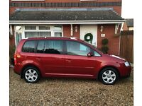 Vw Touran 2.0 tdi Sport.. 1 owner from new, low miles, Rare colour!!